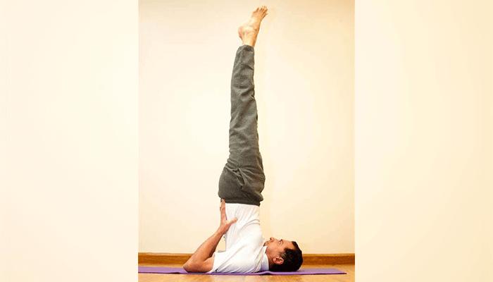 Sarvangasana (Shoulder Stand Pose)
