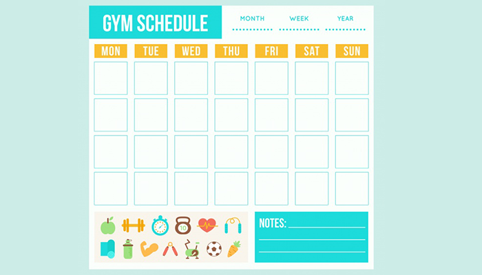 Start with 2-3 days per week