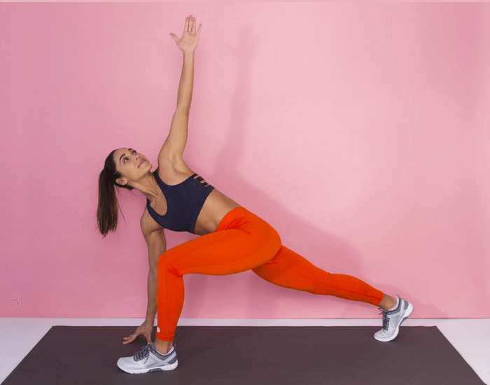 Stretch before you can start your aerobic exercise