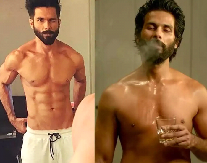 Shahid Kapoor's Transformation For Kabir Singh
